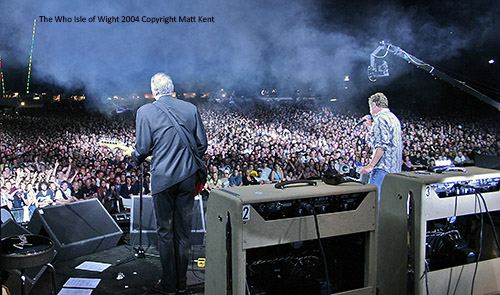 The Who Isle of Wight 2004 copyright Matt Kent