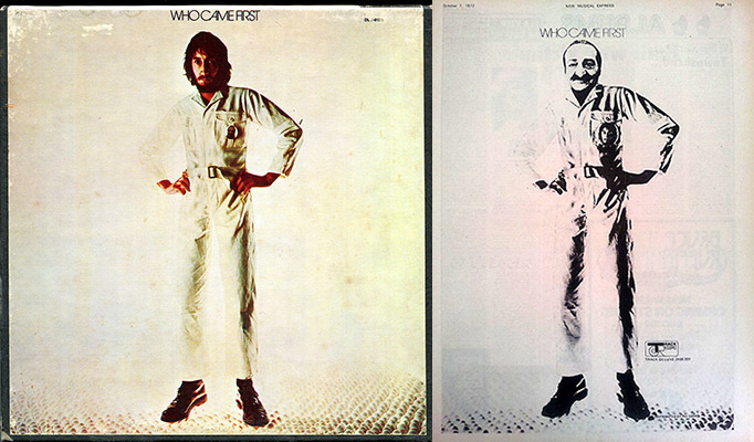 Pete Townshend album and ad