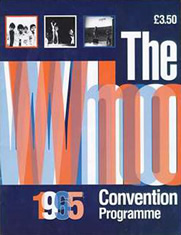 The Who Convention 1995 programme